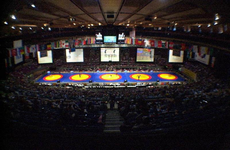world wrestling championships Madison Square Garden