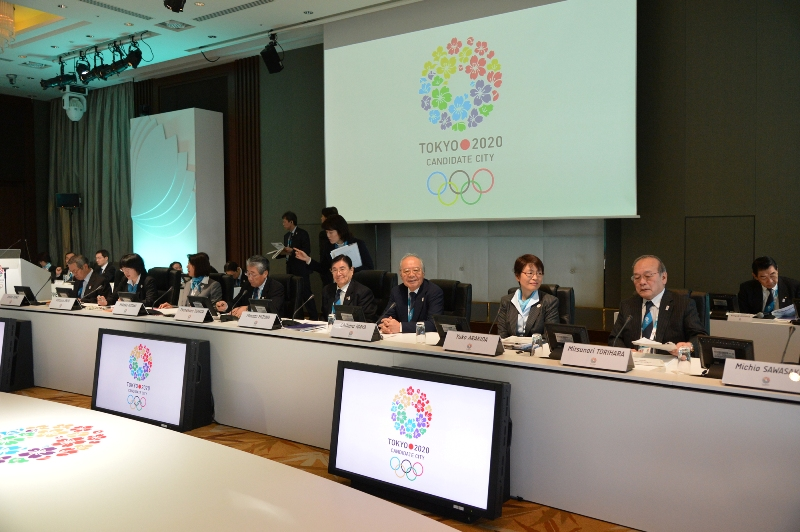 Tokyo 2020 present to IOC Evaluation Commission Tokyo March 5 2013